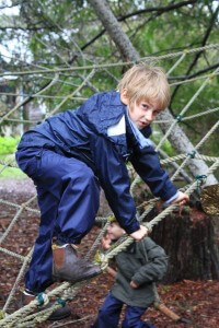 Photo of Spirit of Play student playing outdoors